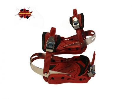 Totally Board Set of Two Red Bindings
